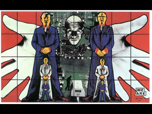 """We Are""...Gilbert and George"
