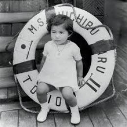 "Young Yoko...Image from ""Yokos Blog"""