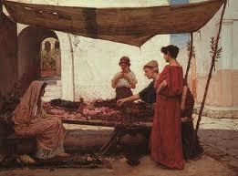 Athenian women socialise alone amongst each other