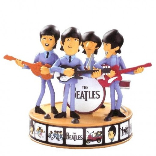The Beatles Christmas Decorations