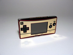Game Boy Advance Micro (Famicom version)