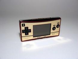 Game Boy Advance Micro (Famicom version)