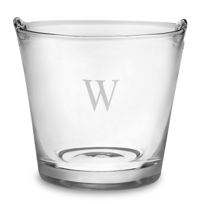 This glass ice bucket is available online for only $65.00 Plus S&H