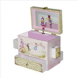 Ballerina Jewelry Box - Great Gift for Girls of all ages.