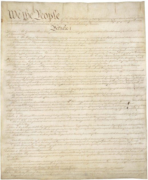 There are two Constitutions: The Constitution for the United States of America and the Constitution of the United States of America. They are two separate realities and mean different things.