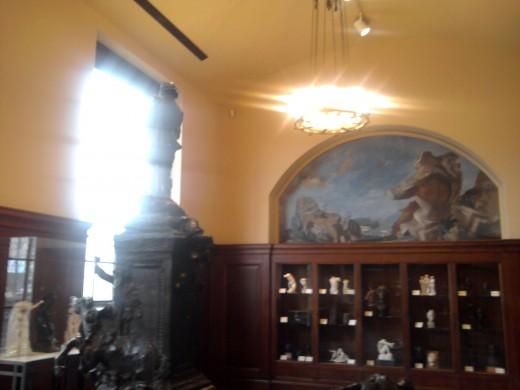 Inside Rodin Museum