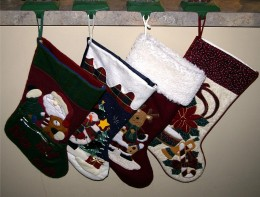 Sewn Christmas Stockings