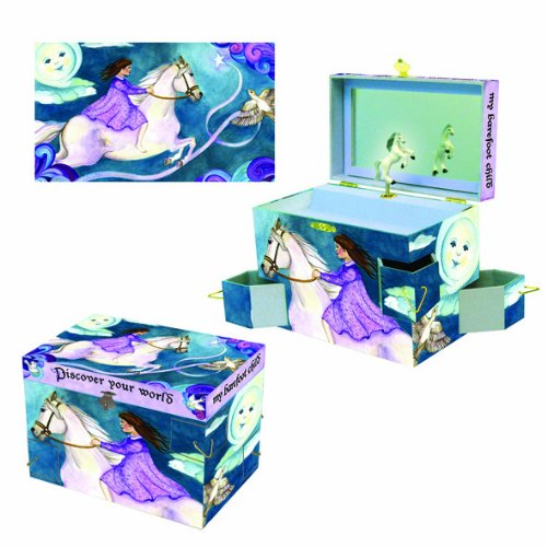Gift for Girls Wings of a Song Jewelry Box