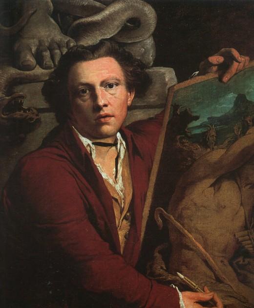 James Barry - self portrait. Image Wikipedia