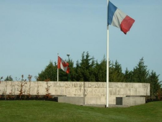 Bayeaux liberation memorial