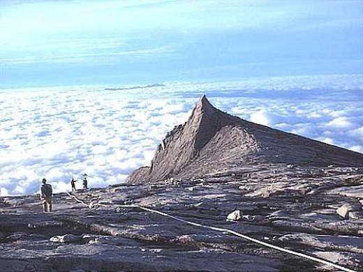 Mount Kinabalu, Sabah.