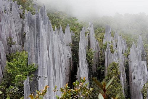 Sarawak Fire Mountain