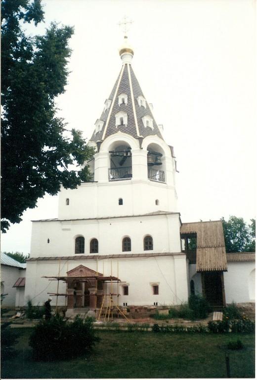 Church Belfry at Poshupovo Monastery near Ryazan, Russia