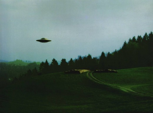 UFO's have been seen all around the United States for many years now.