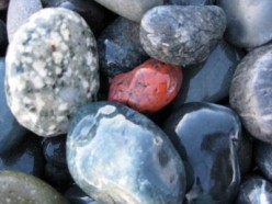 Fast and Easy Science Fair Projects: Hot rocks
