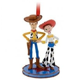 Disney Pixar Toy Story Ornaments - Woody and Jessie