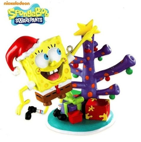 SpongeBob Christmas Ornaments, Figurines and Decorations