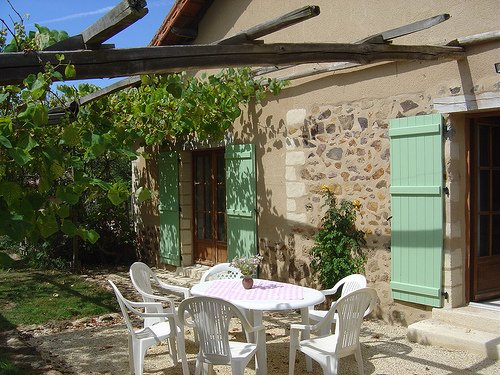 Our gite has three en-suite bedrooms and sleeps 7 adults.