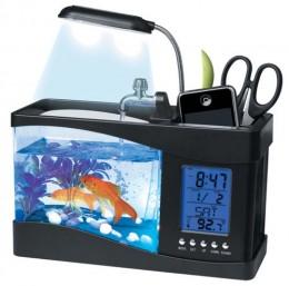 Aquarium desk organizer