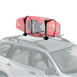 Yakima BigStack Rooftop Canoe, Kayak, or Surfboard Rack with Tie Down