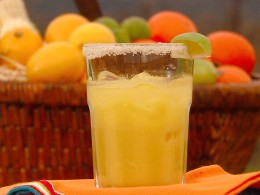 Spicy orange and grapefruit juice