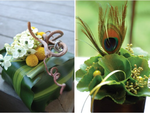 Edgy, green creations...perfect for a little boy's imagination!