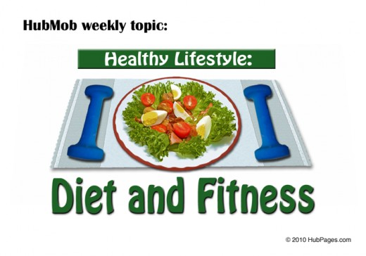 HubPages Healthy Lifestyle: Diet and Fitness