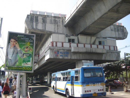 Mo Chit BTS Sky Train station