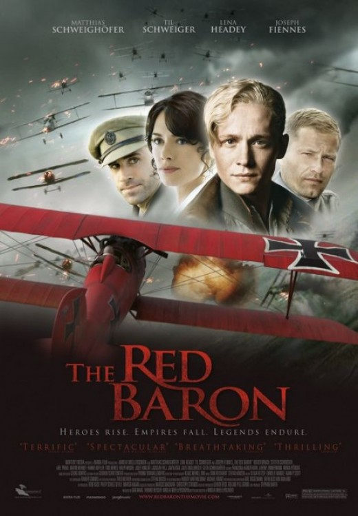 Movie poster for The Red Baron (2008)