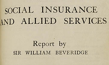 Beveridge report on social  insurance and allied services