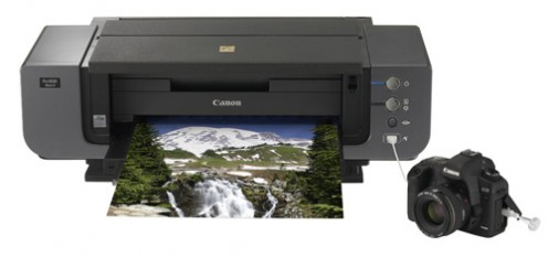 You can print directly from your Canon camera