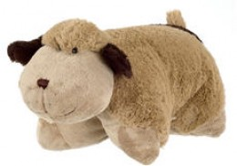 Pillow Pets - Snuggly Puppy as pet