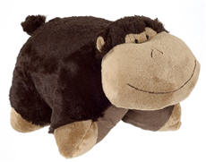 Pillow Pets - Silly Monkey as pet