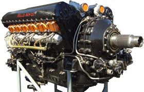 A Rolls Royce Merlin Engine