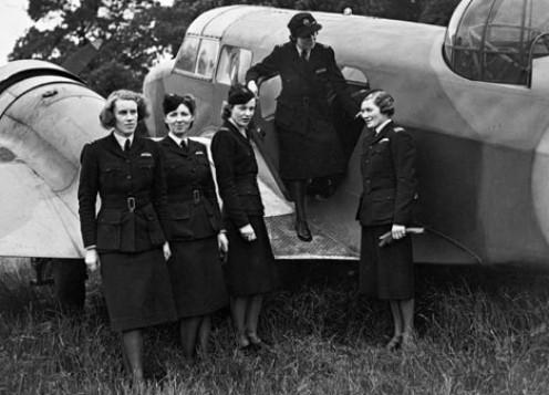 WW2 A.T.A 'Spitfire Girls'