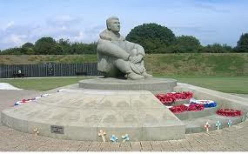 The Battle of Britain Memorial at Chapel Le Ferne