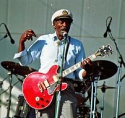 Chuck Berry in 1997