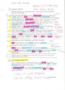 How to do a Script Breakdown