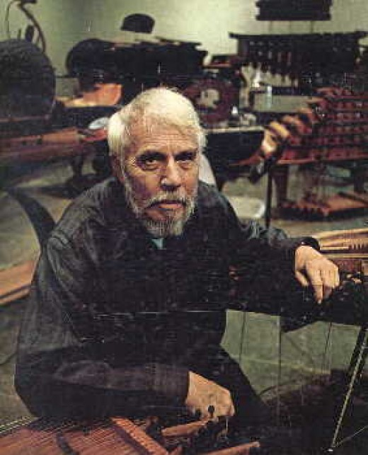 Harry Partch, The Hobo Composer in the flesh.