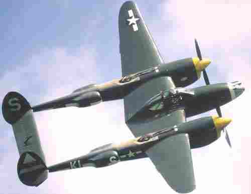 This is how the P38 looked in flight. credit royalairfarce.blogspot.com