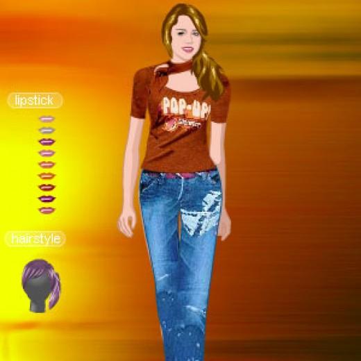 Miley cyrus dress sex game