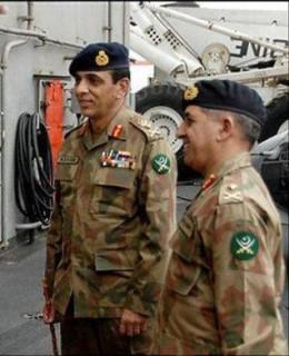 File photo of Pak ISI chief - Ahmad Shuja Pasha
