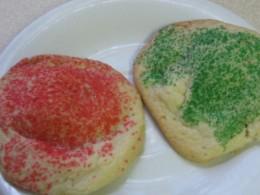Mini Candy Bar Christmas Cookies