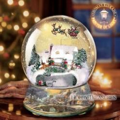 Collecting Christmas Snow Globes
