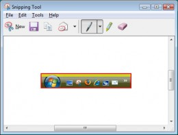Microsoft Snipping Tool for Windows Vista and Windows 7