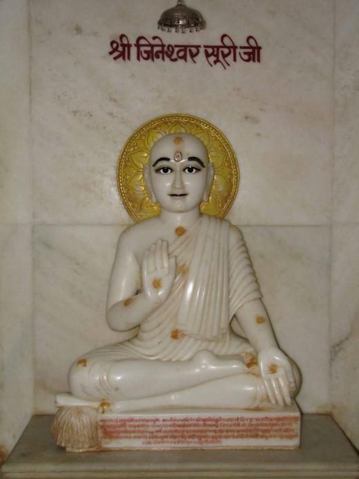 Sri Jineshwar Suri, founder of Khartar Gachchh sec of Swetambar Jain