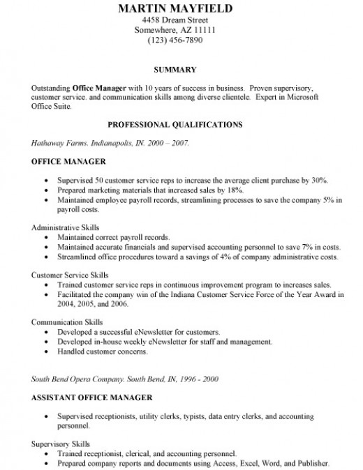 What Is A Combination Resume – Hybrid Resume Format