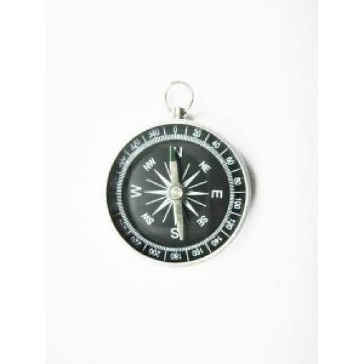 (Price/piece)(Price/piece) Precise Small Elegant Pocket Compass, Clearance Sale!