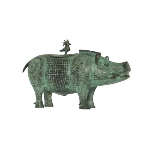 Antique Bronze Statues