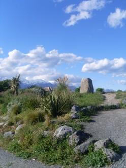 Mountains near Kaikoura, New Zealand.